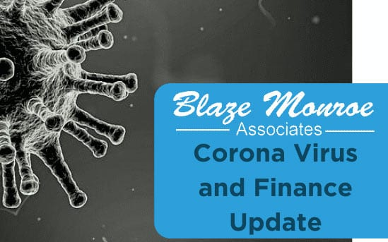 Corona Business Finance Update – 20th March 2020